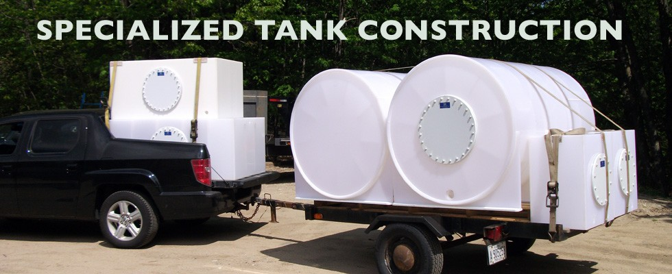 Image of polyethylene tanks